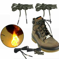 Outdoor Survival Fire Flame Lighter Starter Boot Shoelace Hi