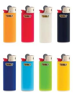 PACK OF 10 BIC Classic Lighter Assorted Colors