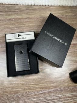 Saberlight Plasma Arc Windproof Lighter RechargeableBlack