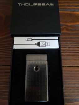 SABERLIGHT PLASMA LIGHTER ARC FLAMELESS BEAM USB CHARGER NEW