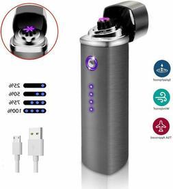 Dibikou Plasma Lighter Triple Arc Lighter Rechargeable Power