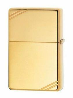 High Polished Brass Windproof Lighter