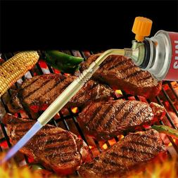 Portable Butane Gas Torch Welding BBQ Flame Gun Outdoor Sold