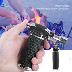 Portable Gas Torch Butane Burner Lighter Flamethrower BBQ Ca