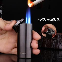 Powerful Pipe <font><b>Lighter</b></font> 3 Fire Torch Turbo