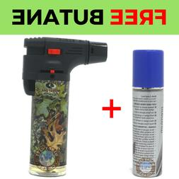 Mossy Oak Random Torch Gun Lighter Adjustable Flame Windproo