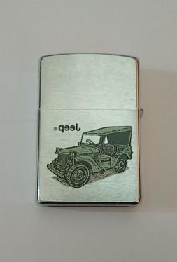 Rare JEEP Zippo lighter circa 2000
