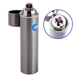Rechargeable Splash Wind Proof Flameless Butane Revolution P
