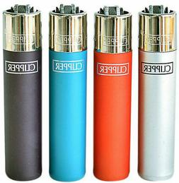 CLIPPER Refillable - 6 Lighters - Long Last - Mix N Match So