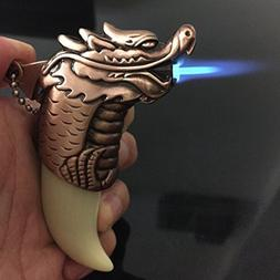 Yeahgoshopping Refillable Jet Flame Butane Torch Cigar Windp