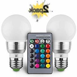 KOBRA Retro LED Color Changing Light Bulb with Remote Contro