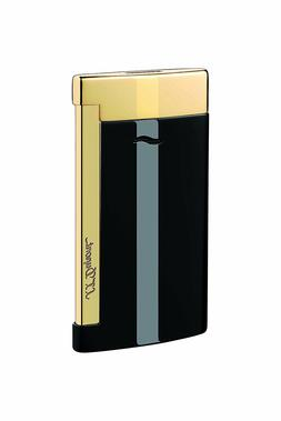 S.T. Dupont Lighter - Slim 7 Black & Gold Finishes - 27708