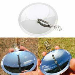 Safe Mirror Solar Ignition Fire Starter Lighter Outdoor Camp