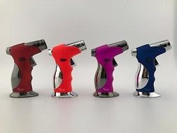 SCORCH REFILLABLE 4 FRAMES TORCH LIGHTER SOFT IGNITION AND C