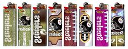 8 pc Set BIC Pittsburgh Steelers NFL Officially Licensed Cig