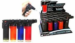Eagle Side Torch Refillable Lighter 15 per tray