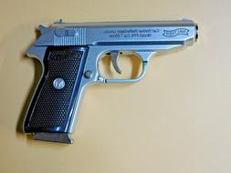 Silver Special Walther PPK Gun Shape Jet Torch Lighter With