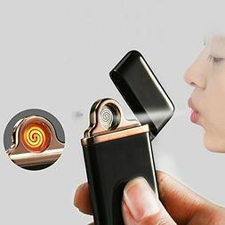 smart touch sensor usb rechargeable double arc