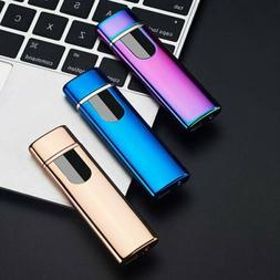 Smart Touch Sensor USB Rechargeable Double Arc Flameless Pla