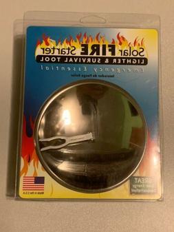 Solar Powered Lighter Emergency Firestarter  Camp Survival S