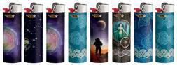 BIC Special Edition Exploration Series Lighters, Set of 8 Li