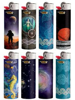 BIC Special Edition Exploration Series Lighters, Set of 8 Li