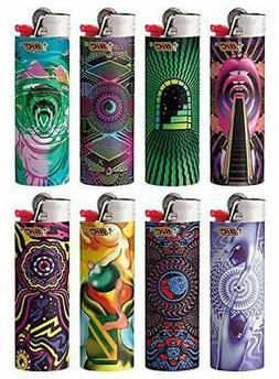 BIC Special Edition Prismatic Limited Series Lighters, Set o
