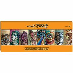 BIC Special Edition Tattoos Series Lighters, Set of 8 Lighte