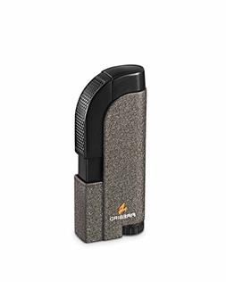 Tangent Single Torch Flame Cigar Lighter Silver Warranty