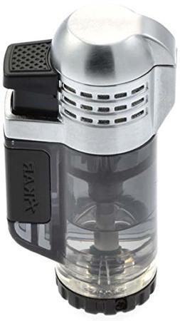 XIKAR Tech Triple Lighter, Black 527BK