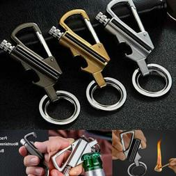 Ten thousand Matches Oil Lighter Key Chain Metal Lighter Bot