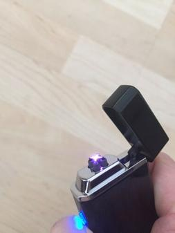 Tesla Coil Lighter Usb Rechargeable Windproof Dual Arc Light