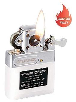 Butane Pipe Lighter Insert for Flip-top Lighters Type P