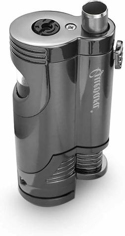 Torch Butane Fuel Refillable Lighter - Punch High Quality Cu