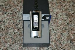 Xikar Trezo Black Inline Triple Torch Cigar Lighter