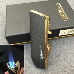 JOBON Triple Flame Torch Cigarette Lighter Jet Butane Cigar