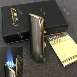 JOBON Triple Flame Torch Jet Butane Cigar Cigarette Lighter