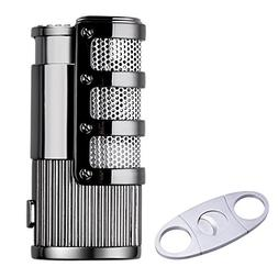 SG Triple Jet Flame Butane Torch Cigarette Cigar Lighter w/P