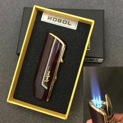 Jobon Triple Jet Flame Windproof Cigarette Torch Lighter Cig