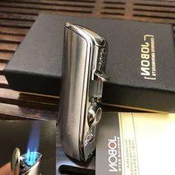 JOBON Triple Jet  Torch Flame Cigar Cigarette Lighter with P