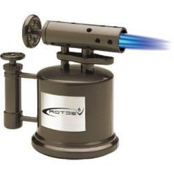 Vector TriPump Table Top Cigar Torch Lighter Gunmetal Tri Pu