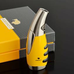 COHIBA Turbo Butane Gas Lighters Windproof Cigarette Cigar F