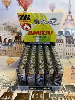 Scripto Ultima Lighters 50 Ct Up To 3000 Lights Per Lighter