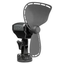 Caframo Ultimate 12V 2-Speed 7 Fan Black W/ Lighter Plug