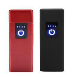 Ultra Slim USB Rechargeable Electric Pulse Cigarette Lighter