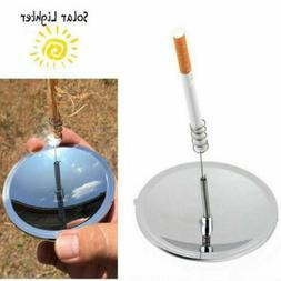 USA STOCK Solar Cigaretes Lighter Windproof Cigarete Tobaco