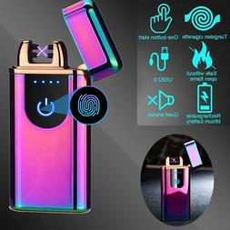 Dual Arc Electric USB Lighter Rechargeable Plasma Flameless