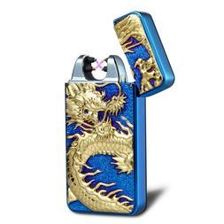 Kivors USB Rechargeable Electronic Pulse Double Arc Cigarett