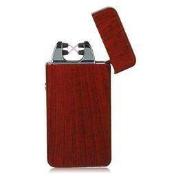 Kivors USB Rechargeable Flameless Electronic Dual Pulse Doub