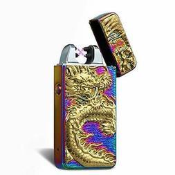 Kivors USB Rechargeable Windproof Flameless Electronic Plasm